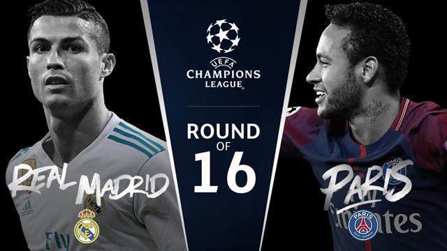 Real Madrid-PSG: Cristiano vs Neymar y los otros duelos personales que decidirán el partido
