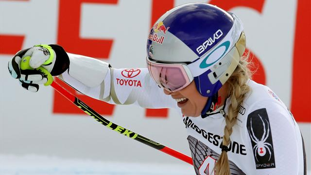 Don't underestimate me, Vonn warns young athletes