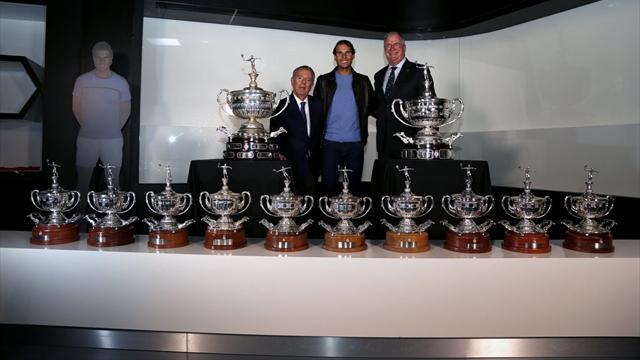 Así se fabricó la réplica del trofeo Conde de Godó para Rafa Nadal