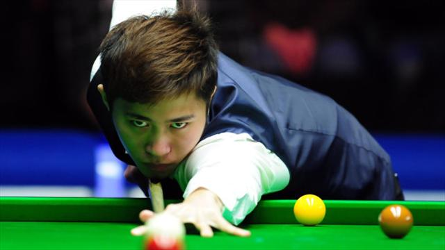 Cao Yupeng stuns Judd Trump to reach Scottish Open final
