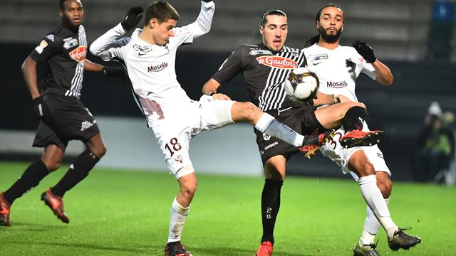 Angers – Metz EN DIRECT