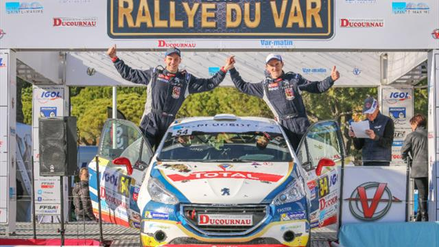 ERC Junior star Mareš praised after French rally