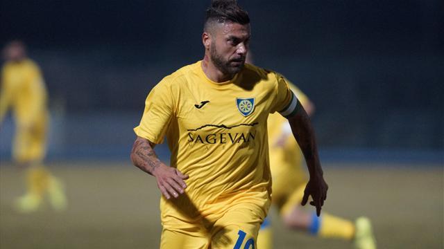 La rivincita di Tavano, a 38 anni è il cannoniere più prolifico della Serie C
