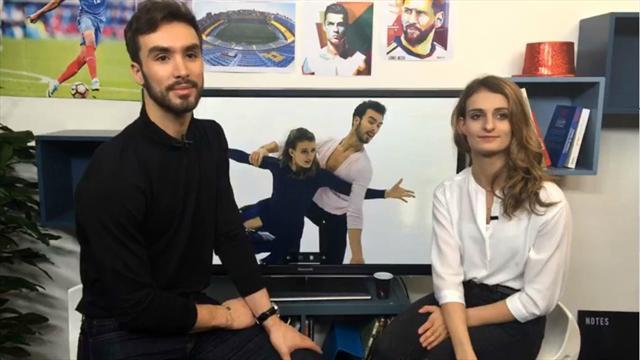 JO, favoris, record du monde... Gabriella Papadakis et Guillaume Cizeron ont répondu à vos questions