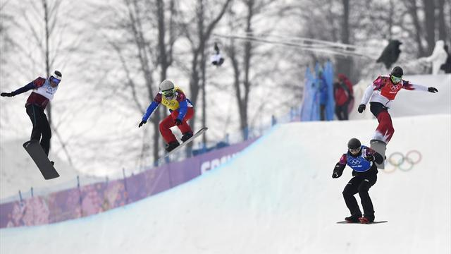 Snowboard alterations pay dividends for Berg in World Cup