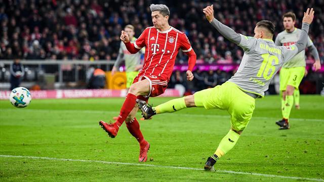 Le Bayern Munich creuse l'écart, Schalke devient dauphin