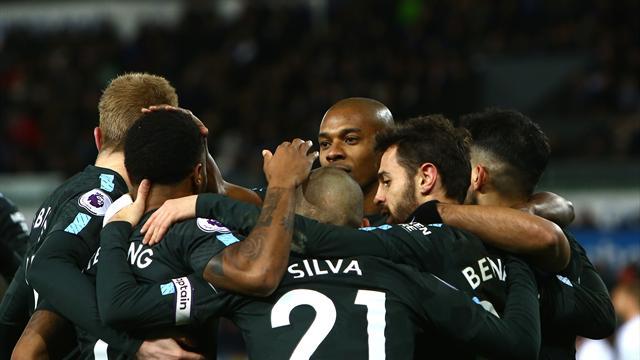 How City broke the Premier League wins record
