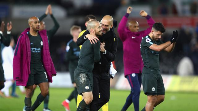 Can anyone stop Guardiola's 'animals' from winning title?