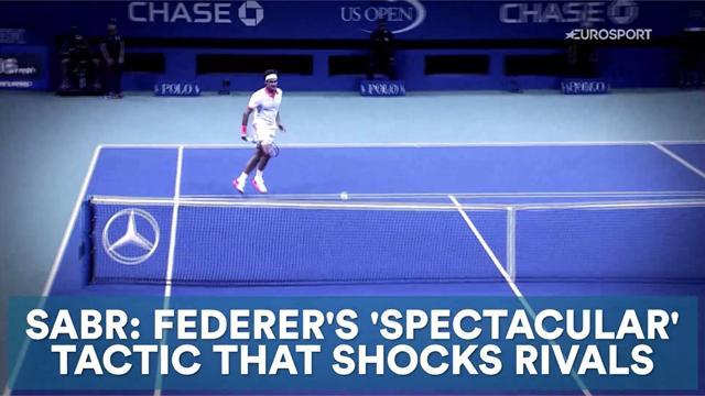 SABR: Federer's 'spectacular' tactic that shocks rivals