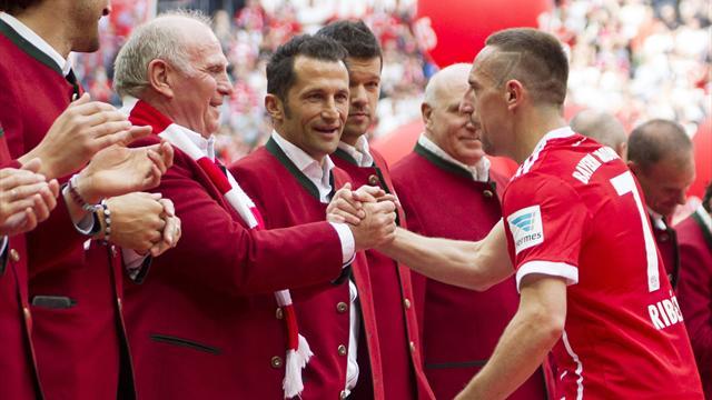 Ribérys Zukunft hängt am guten Willen der Bayern-Bosse