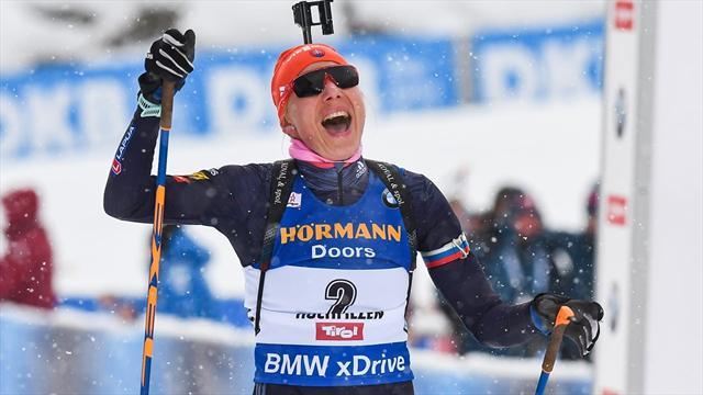 Après Fourcade, le relais dames français triomphe à Oberhof
