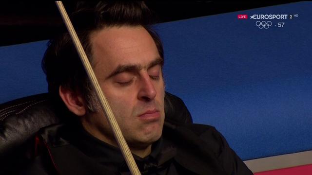 Ronnie O'Sullivan si addormenta durante la partita contro Li Hang