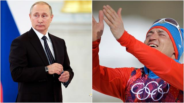 Legkov med i massiv støtteerklæring til Putin: – Vi deler de samme verdiene