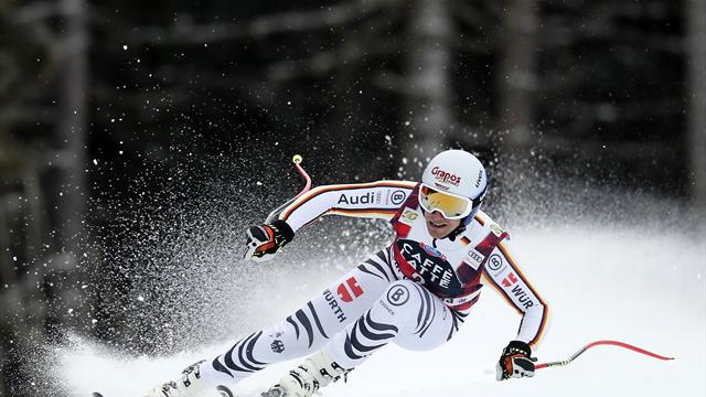 Ferstl ends German drought in speed events with super-G victory