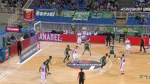 Highlights: Panathinaikos Superfoods Atene-AX Armani Exchange Milano 80-72
