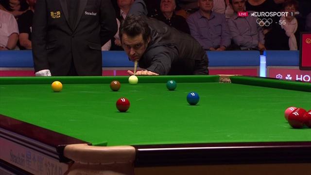 """""""No sé si prefiero meterme a una bañera con pirañas o dejar esa bola a Higgins"""", error de O'Sullivan"""