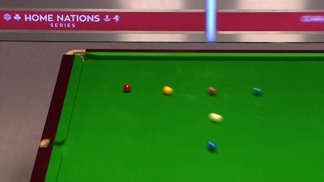 Higgins sinks incredible long red against O'Sullivan