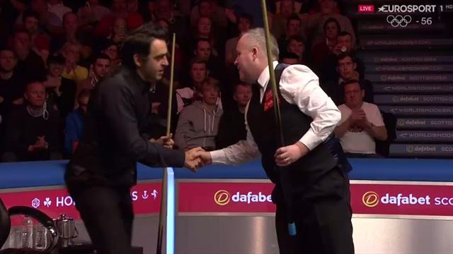 Abierto de Escocia: Manita de John Higgins a Ronnie O'Sullivan para alcanzar las semifinales