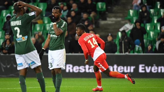 Monaco plonge les Verts au fond du gouffre