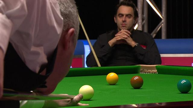 WATCH: Three John Higgins centuries back-to-back