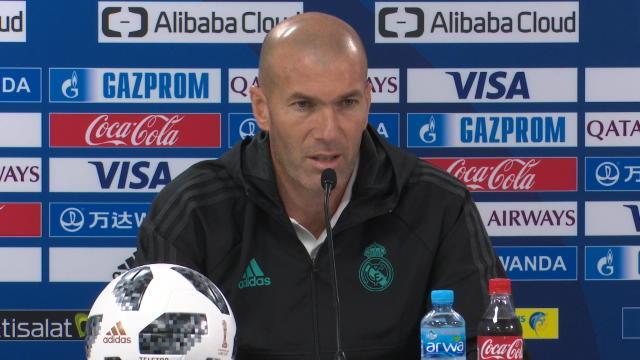 Entre la tactique et la relation avec les joueurs, Zidane a fait son choix