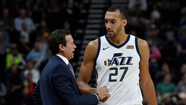 Gobert (Utah), touché au genou gauche, absent au moins deux semaines — NBA