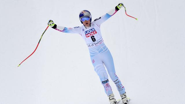 'Sensational' - Vonn storms to victory in Val d'Isere