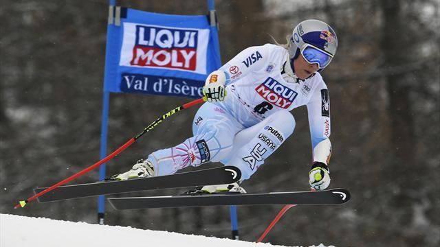 Vonn feiert 78. Weltcup-Sieg, Rebensburg Siebte