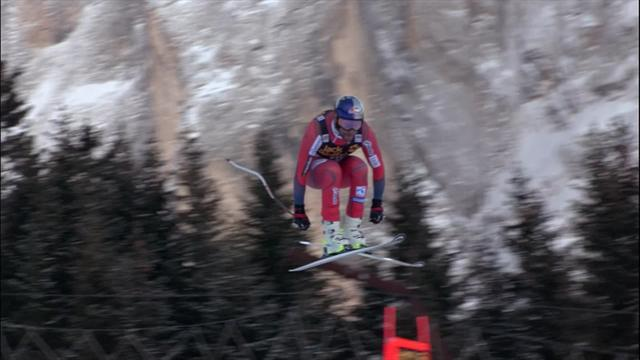 'He's smashed it!' - Svindal wins in style in Val Gardena