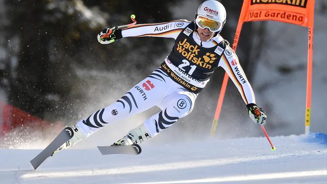 Gröden: Super-G-Sieger Ferstl in der Abfahrt auf Platz 14 - Svindal siegt
