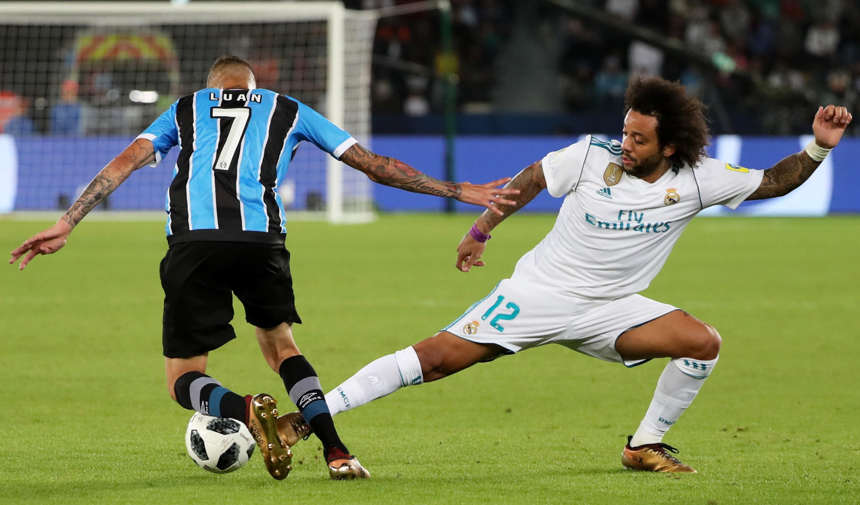 Marcelo Real (Madrid) contre Grêmio en finale du Mondial des clubs 2017