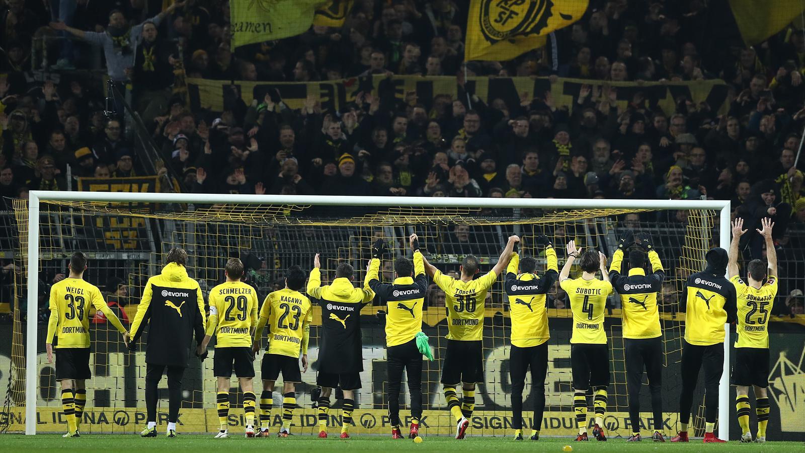 Allemagne / 17e journée: Dortmund gagne à domicile pour la première fois depuis septembre