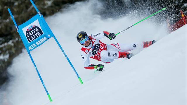 Hirscher écrase le slalom géant — Alta Badia