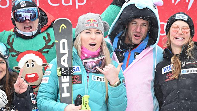 No Val d'Isere double for Vonn as she withdraws with Olympics on mind