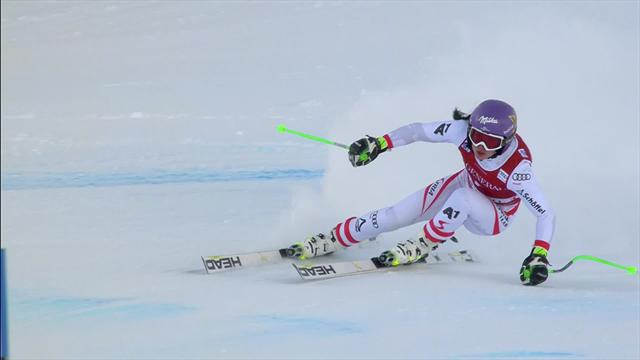Anna Veith torna a vincere! Trionfo nel superG in Val d'Isere