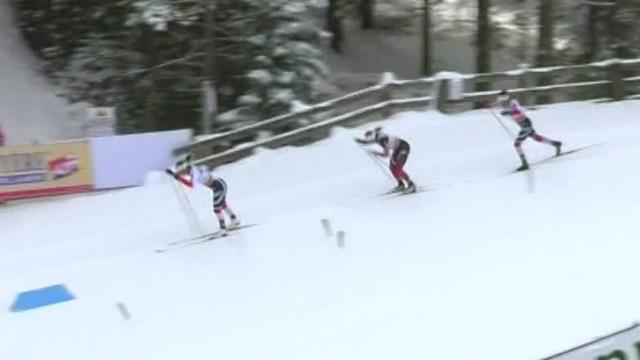 Бьорген выиграла классический пасьют, хотя две другие норвежки очень сопротивлялись на финише
