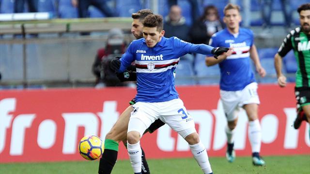 Serie A, la cronaca di Sampdoria-Sassuolo 0-1