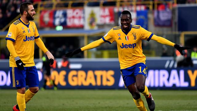 Juventus Bologna 3-1, bianconeri a +7 sul Napoli