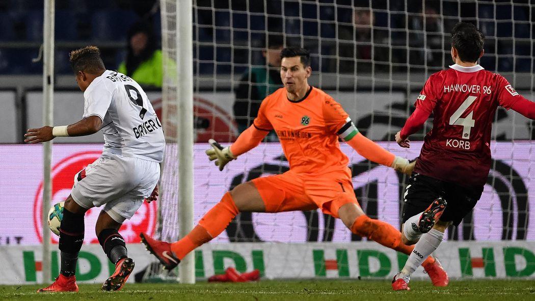Julian Korb Rettet Hannover  Gegen Leverkusen Leon Bailey Mit Doppelpack Bundesliga   Fusball Eurosport Deutschland