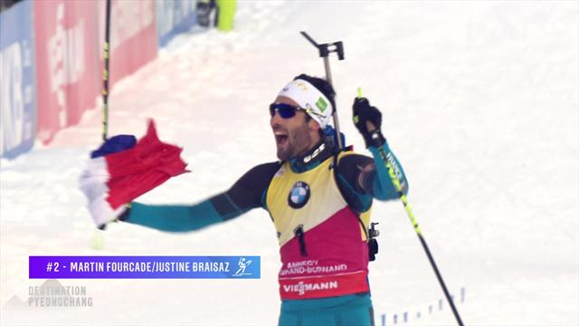 Top 5 Destination Pyeongchang: Fourcade and Hirscher show their class
