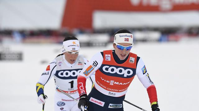 Fourth Toblach victory sees Bjoergen make history