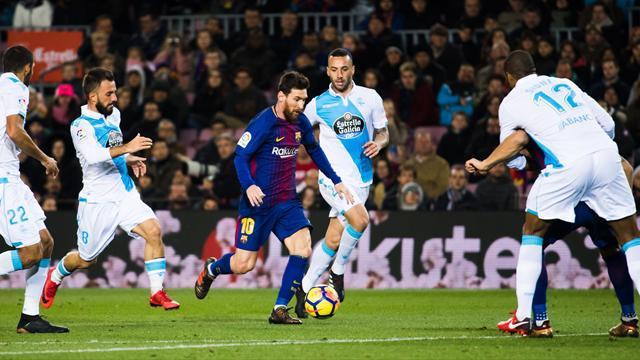 Футбол лакорунья испания