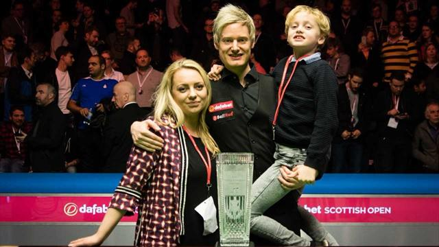 Neil Robertson victory ends epic year in snooker