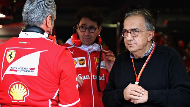Ferrari, Marchionne: