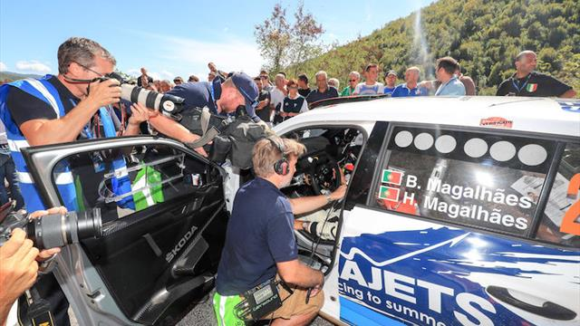 ERC media vote Magalhães as their driver of 2017