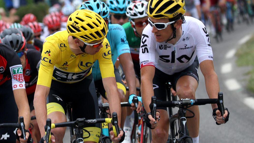 Blazin  Saddles  Are Sky leaning towards Geraint Thomas and a Plan G  - Tour  de France 2018 - Cycling - Eurosport UK 76df4e8d4