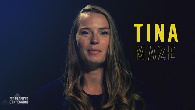 Alppihiihtäjä Tina Maze kertoo olympiavoiton jakamisesta parhaan ystävän kanssa