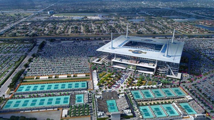 Resultado de imagen de hard rock stadium miami open