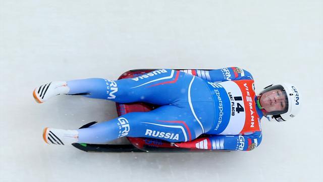 Russians win team world title in Winterberg
