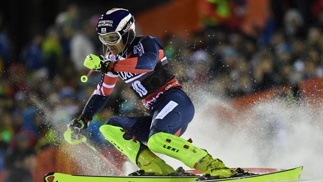 Ryding finishes fourth in Oslo after knocking out Hirscher